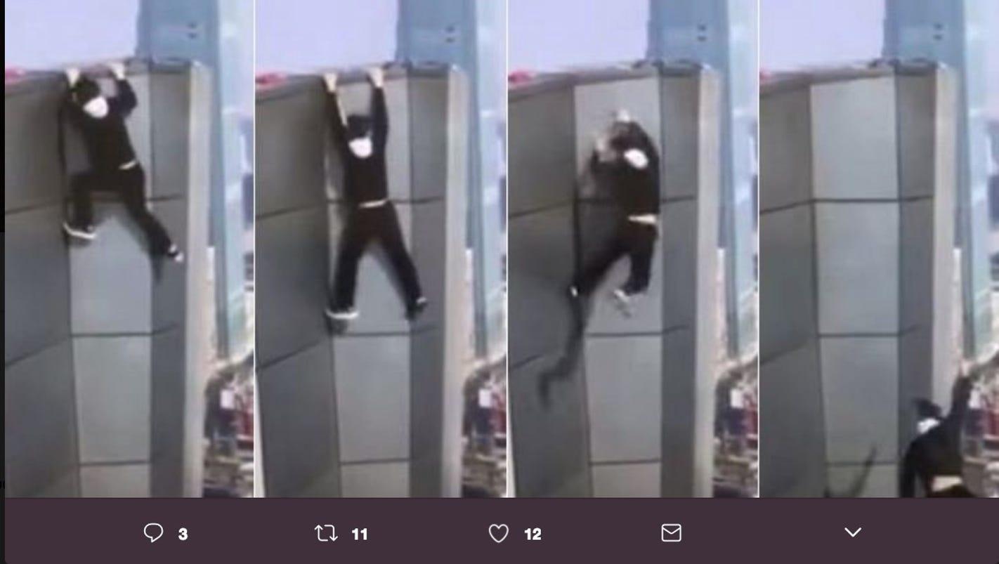 Wu Yongning Images >> Daredevil Wu Yongning dies after falling off building in China