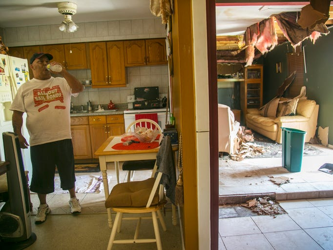 Carlos Xiques of Lehigh Acres was in his home with