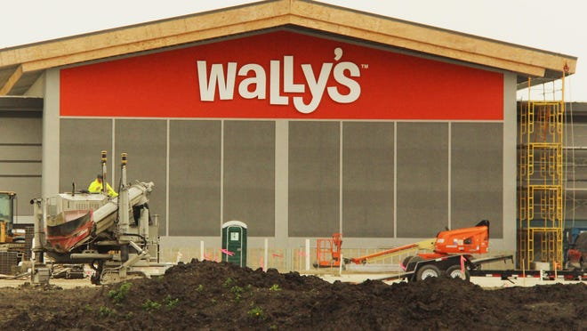 Progress is being made at Wally's near Interstate 55. The auto stop is looking at opening in the late summer.