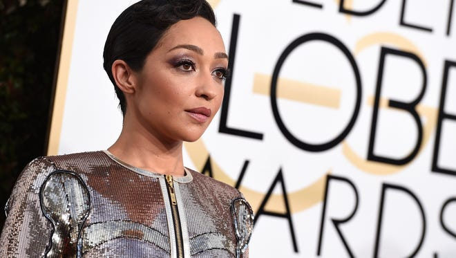 Ruth Negga shined at the 74th annual Golden Globe Awards on Sunday, Jan. 8, 2017.