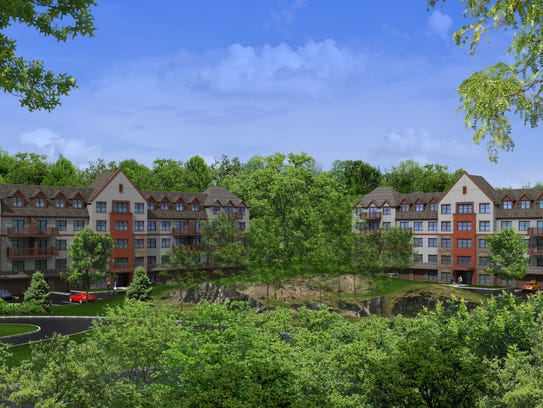 """A rendering of """"Fort Hill Apartments at the Abbey"""""""