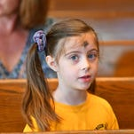 Photos: Ash Wednesday children's Mass at Ascension