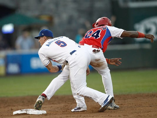 02-Baseball: Rockland Boulders v Cuban National