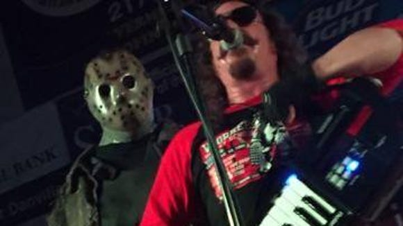 "Ari Lehman, who portrayed Jason Voorhees in the first ""Friday the 13th"" movie, will perform with his band First Jason before a screening of the movie at 9:30 p.m. Friday at Alamo Drafthouse Cinema, 250 E. Montecillo."