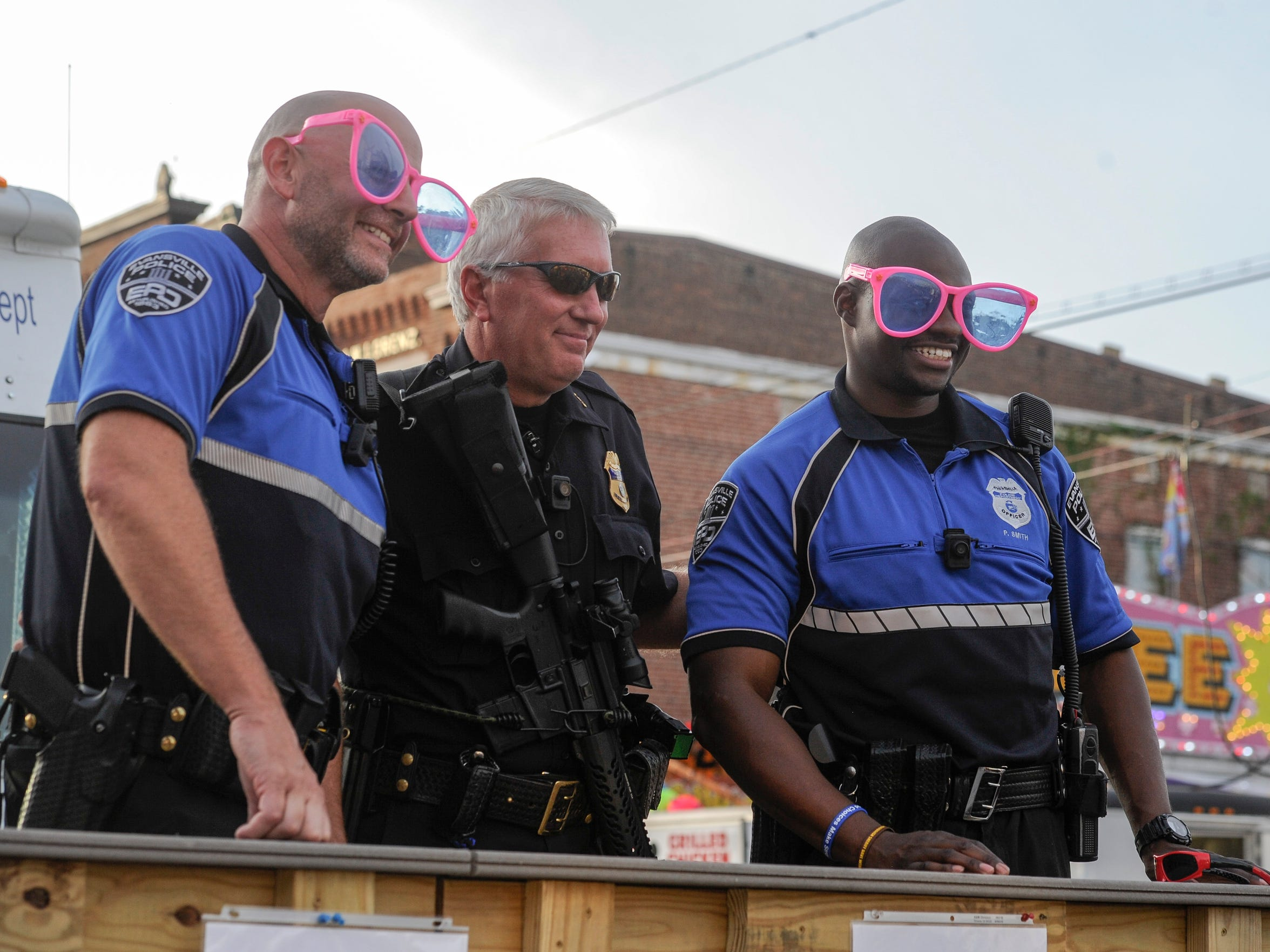 EPD Officers pose for a photo during the 2017 WSNC