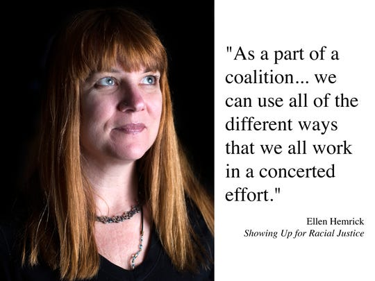 Ellen Hemrick, Showing Up for Racial Justice