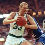 That time when Larry Bird scored 47 points — all with his left hand