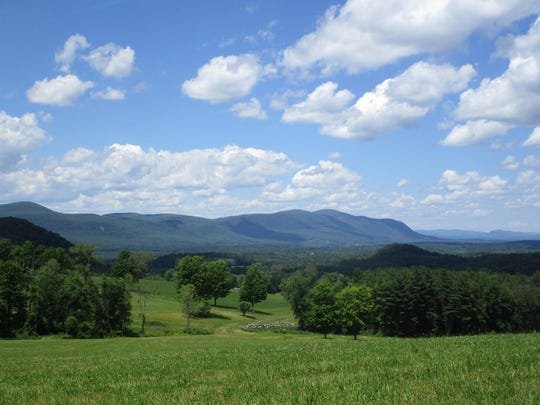 Rand's View offers a scenic vista midway through the Appalachian Trail hike.