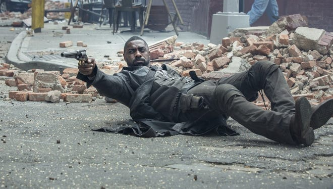 "Idris Elba in ""The Dark Tower."""