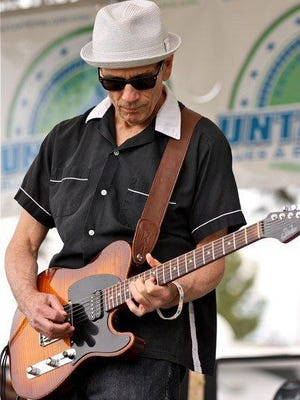 Catch the blues of Billy D Sept. 15 at Boon's Treasury.
