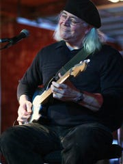 Blues guitarist Garry Meziere will perform 1 to 2:30