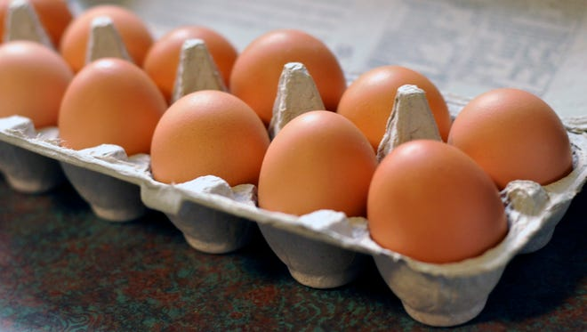 Egg prices are down - just in time for Easter.