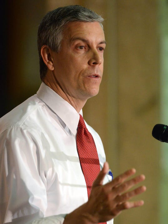 AP EDUCATION SECRETARY DUNCAN A USA IL