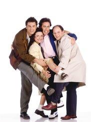 """From left: """"Seinfeld"""" stars Michael Richards, Julia"""