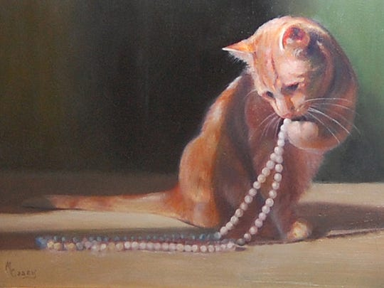 """Alluring Pearls,"" by Maureen Casey."