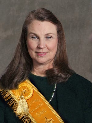 Judy Sherrod serves as president of the Tennessee State Grange.