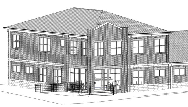 A rendering of Palmetto Physical Medicine's new Mauldin location.