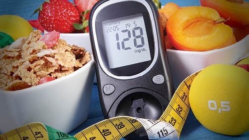 Keep in mind that, with diabetes, it could be dangerous to think that if you feel fine, you must not be sick.