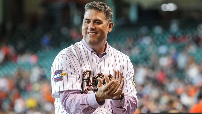 """Lance Berkman is facing criticism for participating in an upcoming """"Christian Day"""" at Busch Stadium."""