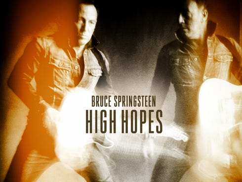 Cover art for  'High Hopes' by Bruce Springsteen