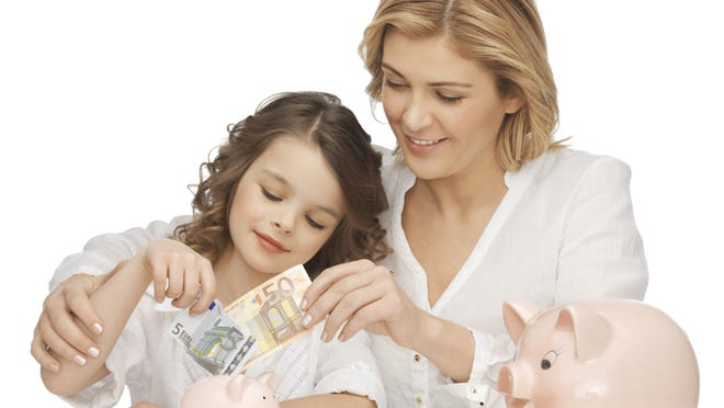 Talk to your children about the costs of things and encourage them to save.