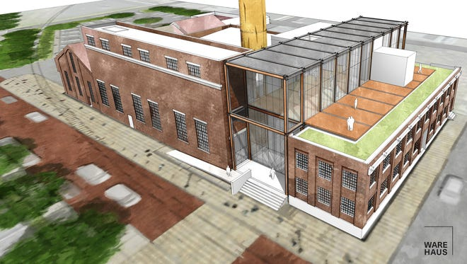York County History Center plans to convert the former Met-Ed Steam Generating Plant at 121 N. Pershing Ave.into the new home of the history center's museum, archives and library.