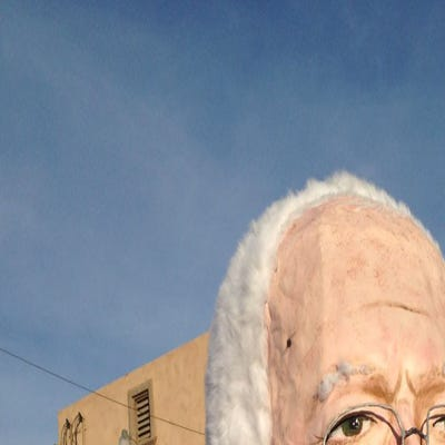 """The """"Bernie"""" at  """"Berniechella Festival"""" in the city"""
