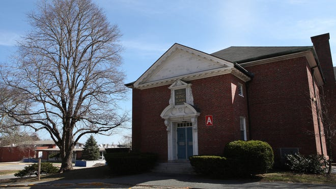 The 1927 facade of the former Henry T. Wing School in Sandwich will be preserved and other structures on the property demolished to make way for housing for residents age 62 or older.
