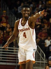 USC forward Chimezie Metu had 18 points and 10 rebounds