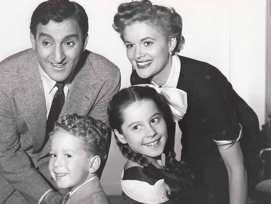 'Make Room for Daddy' publicity still of Danny Thomas,