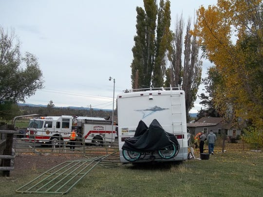 A Lincoln City man died from injuries following a single vehicle motorhome crash on Highway 97 on Wednesday, Oct. 19 at 6:30 p.m.