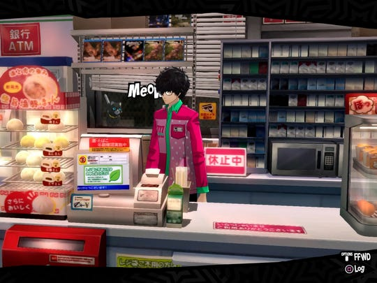 Yes, you can work a part-time job in Persona 5.