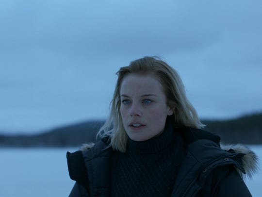 Ida Engvoll stars in the Nordic drama 'Rebecka Martinsson.'