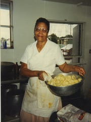 Olivia Williams, executive chef for the Farmers Market