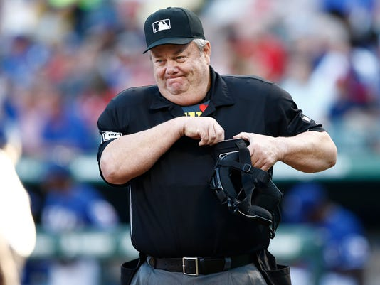 214ea107032 MLB umpire suspended for grabbing player