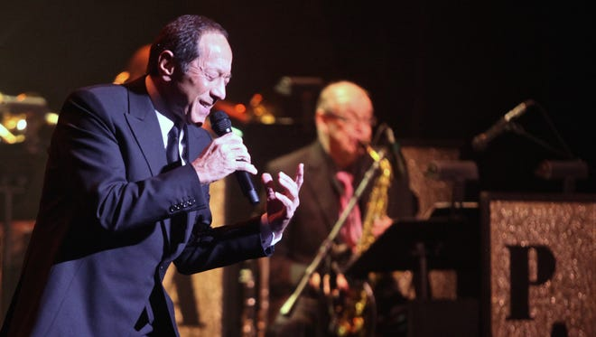 Paul Anka performs at the McCallum Theatre in Palm Desert for its annual gala benefit on Thursday, Dec. 3, 2015.