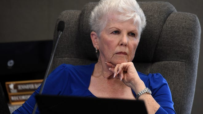 Board of Trustees member Barbara McLaury.