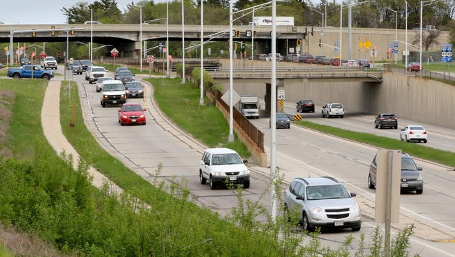 The triple deck layout of the I-41 and Capitol Drive interchange in Wauwatosa makes it the top of 12 most crash-prone intersections in the Milwaukee suburbs.