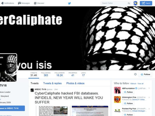 Area TV station hacked by pro-Islamic group