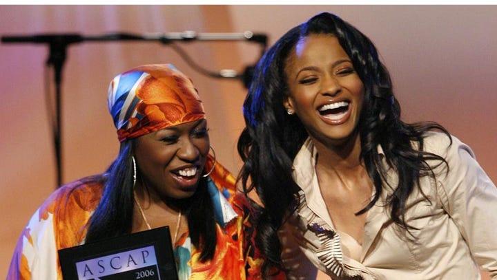 Missy Elliott and Ciara accept a 2006 ASCAP Music Awards