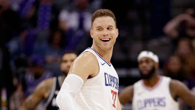 Blake Griffin was traded from the Clippers to the Pistons on Monday.