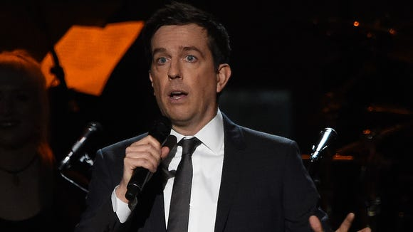 Ed Helms emceed the 2017 MusiCares Person of the Year,