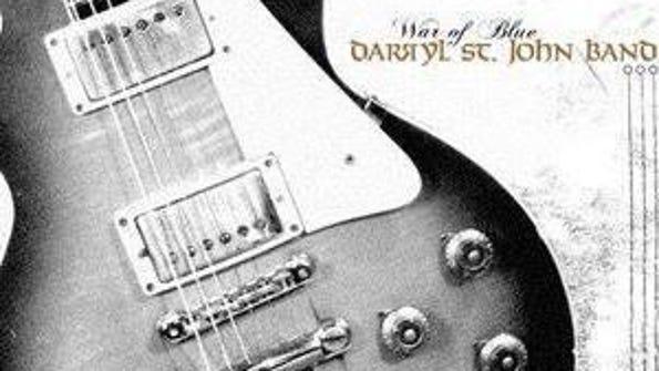"""Darryl St. John released """"War of Blue"""" in 2008, a project"""