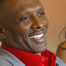 NFL veteran Tim Brown and his wife Sherice say relationships should be based on teamwork.