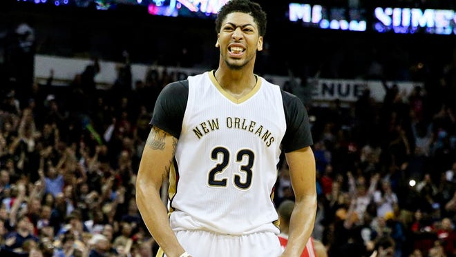New Orleans Pelicans forward Anthony Davis (23) is hoping the team can get back to the playoffs after missing last season.