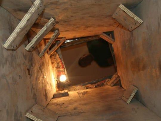 Narcotúnel descubierto en San Luis, Arizona.