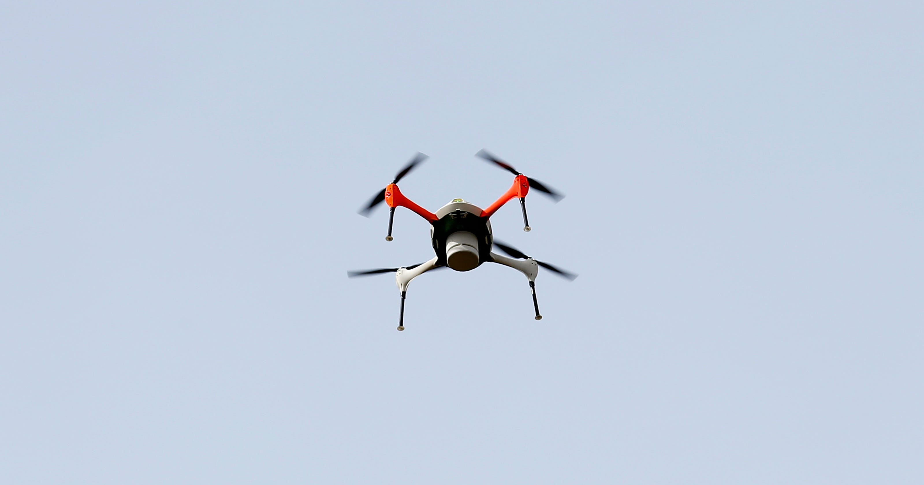 Shooting a drone that is hovering over my house or backyard