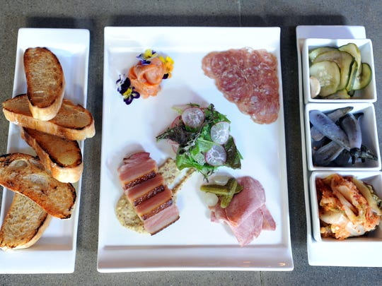 Charcuterie plates are popular from restaurants to brewery tap rooms.