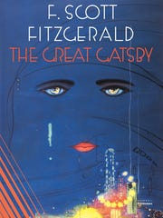 """Classic book jacket of """"The Great Gatsby"""""""