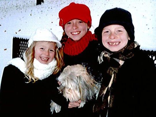 The three Stoffel children were on the Trestle Trail